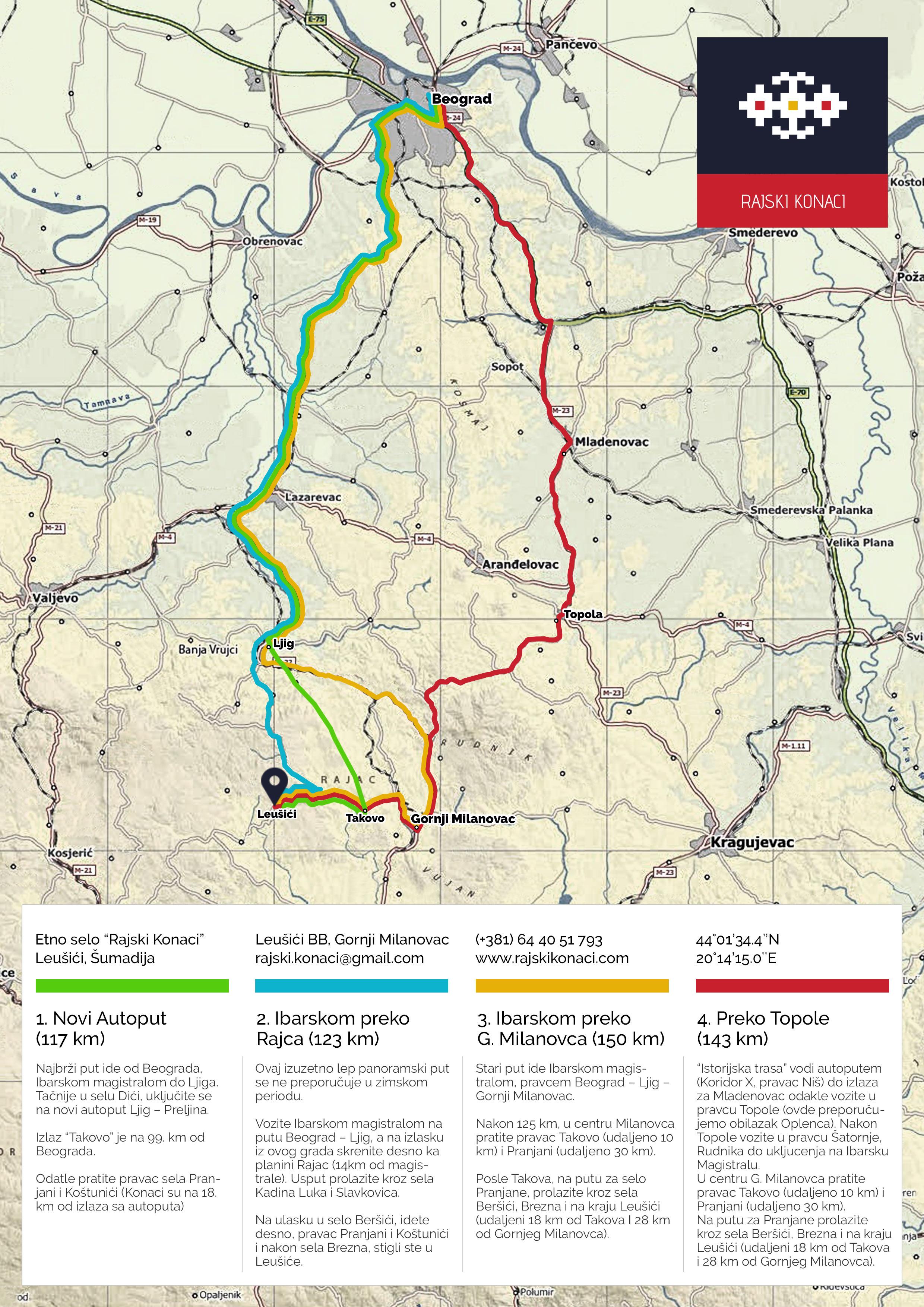 rajac mapa srbije Contact – Rajski konaci rajac mapa srbije